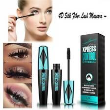 NEW! 4D Silk Fiber Eyelash Mascara Extension Makeup Black Waterproof Eye Lashes
