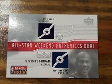 2003 Upper Deck All-Star Weekend Authentics Dual Kobe Bryant & Michael Jordan