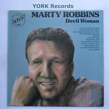 MARTY ROBBINS - Devil Woman - Excellent Condition LP Record Embassy EMB 31049