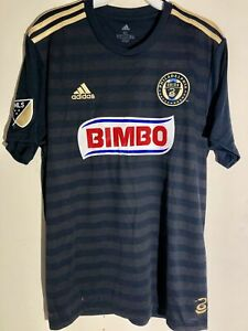 Adidas MLS Jersey Philadelphia Union Team Navy sz M