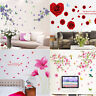 Removable Flower Wall Stickers Art Decal Vinyl Mural Home Room Decor DIY