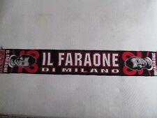 d58 sciarpa MILAN AC football club calcio scarf bufanda italia italy el shaarawy