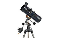 Astronomical Reflector Telescope Newtonian Tripod Celestron AstroMaster 114 EQ