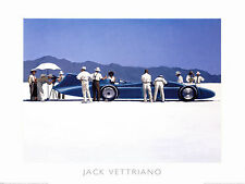 Blue Bird at Bonneville by Jack Vettriano Quality Print 50 x 70cm Genuine 2017©