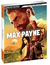 Max Payne 3 Signature Series Guide by BradyGames Staff (2012, Paperback)