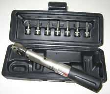 2-24 Nm XLC Drehmomentschlüssel TO-S87 1//4/'/' mit 9 Bits
