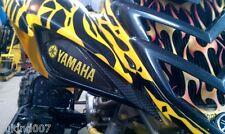 2006 / 2017  RAPTOR  700 450 Black/Yellow YAMAHA HeadLight Covers RUKIND