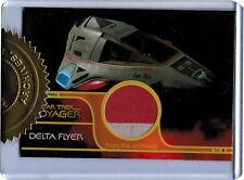 Quotable Star Trek Voyager Delta Flyer Relic Prop Card #249