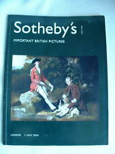 SOTHEBY'S AUCTION CATALOG: Important British Pictures (London) 7/1/04
