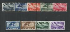 ITALIA. Año: 1945/7. Tema: CORREO AEREO.