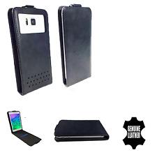 OnePlus One - Schutz Hülle Handy - Flip L Schwarz Leder