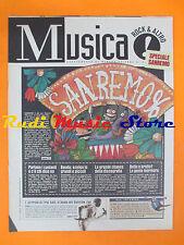 rivista MUSICA! REPUBBLICA 43/1996 Fela Kuti Nina Simone Richey Edwards No*cd
