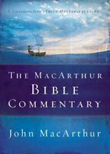 The Macarthur Bible Commentary by John MacArthur (2005, Hardcover)