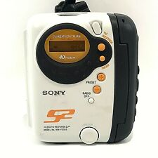 Sony WM-FS222 S2 Sports Walkman Stereo Cassette Player FM/AM Weather Radio Works