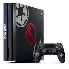 Sony PLAYSTATION 4 Pro Console Star Wars Front II Édition Limitée PS4 Usé