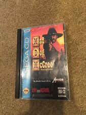 MAD DOG MCCREE Sega CD CIB Disc Manual Case *Tested and Works!*