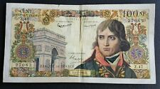 FRANCE - FRANCIA - FRENCH NOTE - BILLET DE 100NF NAPOLEON BONAPARTE 4/2/1960.