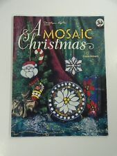 A Mosaic Christmas By Dione Roberts Sun Catcher Stained Glass Leadlight Book