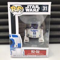 R2D2 - Star Wars - Bobble Head - Funko POP Vinyl 31 *Damaged Box*