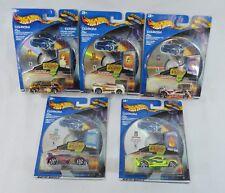 Lot of 5 Hot Wheels CD-ROM Energy Cars Planet.com Chemical Protonic Deora 2001