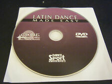 Core Rhythms Latin Dance Made Easy (DVD) - Disc Only!!!!