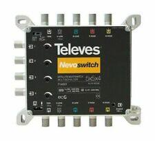 Amplificadores de señal y filtros Televes para TV
