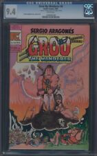 GROO THE WANDERER (1982) #4 CGC 9.4 NM WP REMARK AND SIGNATURE ON 1ST PAGE