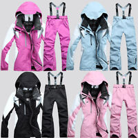 Women's Winter Coat Pants Jacket Waterproof Ski Suit Snowboard Clothes Snowsuit