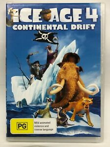 Ice Age 4 Continental Drift - DVD - AusPost with Tracking