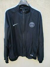 Veste PSG PARIS SAINT-GERMAIN noire NIKE training jacket giacca tracktop L