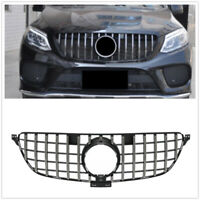 Front Upper Grille Grill for Mercedes Benz w292 GLE Coupe C292 GT R Panamericana