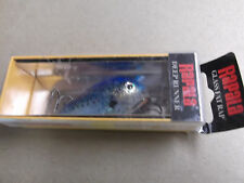 Hard to Find Rapala Glass Fat Rap,GFR-5 GBSD,Blue Shad,Discontinued