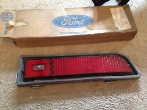 NOS PAIR 1970 1971 FORD TORINO GT TAILLIGHT TAIL LAMP ASSEMBLIES