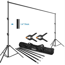 Emart Photo Video Studio Backdrop 10 x 12ft Support System Kit with Carry Bag