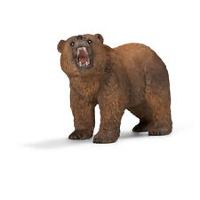 """Schleich® Wild Life, 14685 """" Grizzlybär """", NEU mit Schleich® - Fähnchen"""