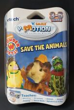 Vtech V-Smile Motion Active Learning System Wonder Pets Save The Animals Game