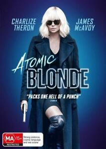 DVD ATOMIC BLONDE 2017 CHARLIZE THERON BRAND NEW UNSEALED REGION 4 FAST POST