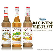 MONIN Coffee Syrups -USED BY COSTA COFFEE - 1L Fall Favourites Trio Gift Set