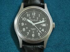 Nice Eddie Bauer S.S. Men's Military Watch w/Date