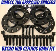 Alloy Wheel Spacers 15mm Bmw X3 X4 F25 F26 M14X1.25 + Extended Bolts B Bimecc