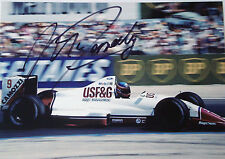 Martin Donnelly  SIGNED, F1 Arrows-Cosworth A11 , French GP Paul Ricard 1989
