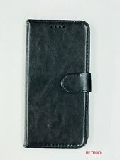 ~New~ Black Sony Xperia L1 And Sony Xperia L2 Leather Wallet Book Pouch