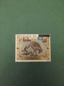 Bénin surchargé overprint Mosaique 1000f sur 35f neuf MNH rare colis postaux