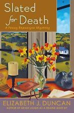 Great Cozy Mystery! Slated For Death By Elizabeth J. Duncan