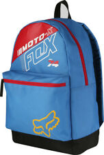 FOX MENS KIDS YOUTH BACK PACK FLECTION BLUE SKATE SCHOOL OVERNIGHT LUGGAGE