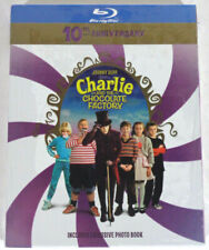 Charlie and The Chocolate Factory 10th Anniversary Blu-ray New Sealed Photo Book