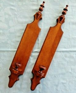 Tell City Wood Andover Pair Wall Candle Sconces #3168