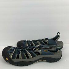Keen Newport H2 Waterproof Hiking Fisherman Sandals Blue 1014187 Mens 14