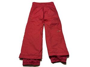 Obermeyer Juniors 14 L Snow Ski Pants Pink Extended Wear System Snowboarding