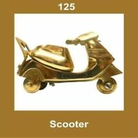 New Vintage Brass Scooter Nautical Home Office Decor Collectables